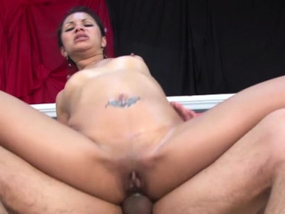 Flashing eastern sweetheart fucked fucker