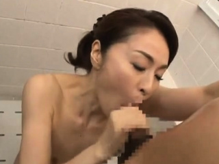 Asian Shower Leads To One Torrid Sloppy Blowjob